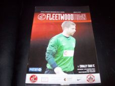 Fleetwood Town v Crawley Town, 2010/11